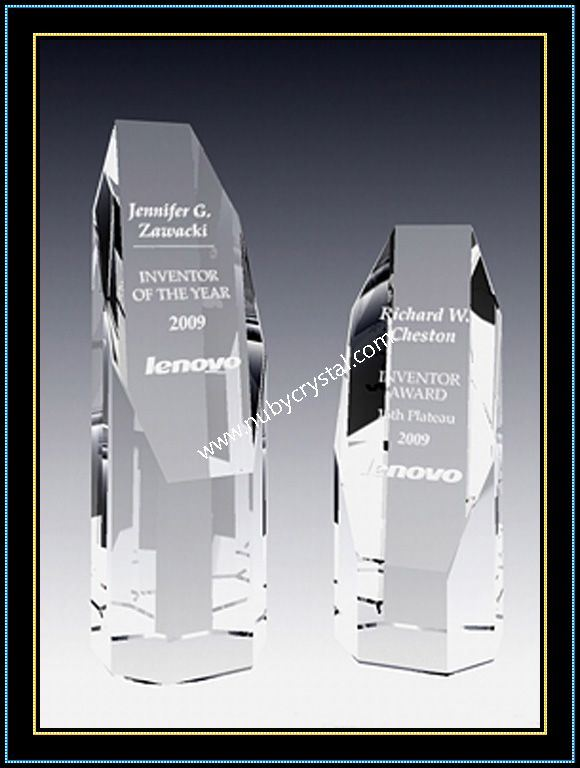 Empire Tower Award Crystal 4 Inch Tall (NU-CW769)