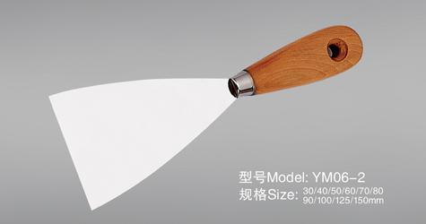Ym07 Wooden Handle Putty Knife
