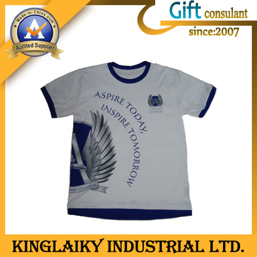 Fashion Design Men′s Printed T-Shirt with Custom Branding (KTS-002)