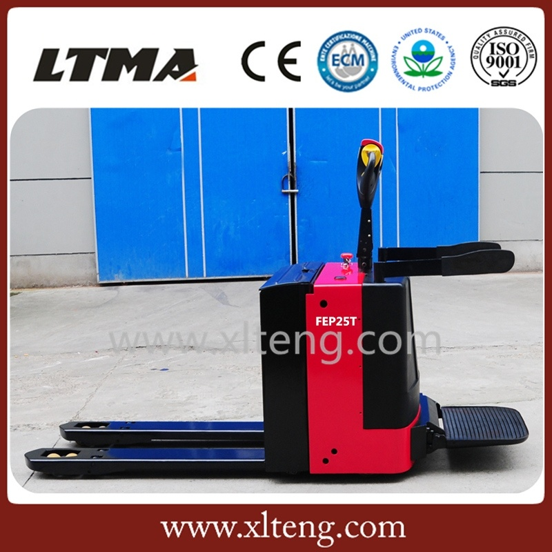 Warehouse Equipment 2 Ton Electric Pallet Truck Hand Pallet Jack