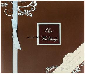 """12""""X12"""" Elegant Paper Wedding Scrapbook Photo Album"""
