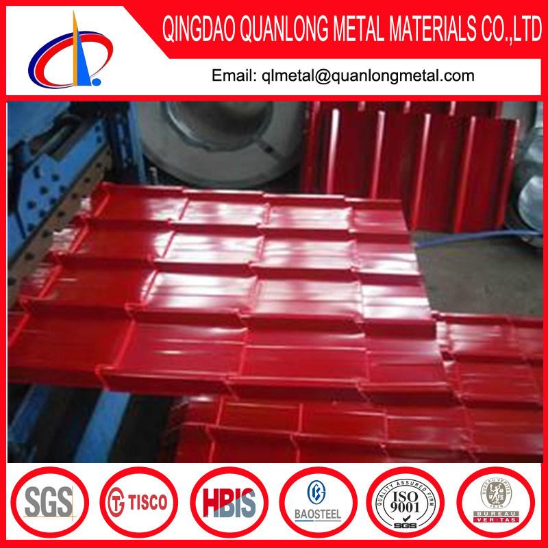 PPGI Prepainted Galvanized Corrugated Roofing Sheet