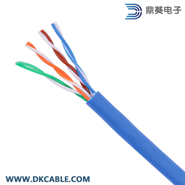 Cat5e UTP 4pairs 24AWG Pure Copper LAN Cable