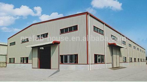 China construction design two story steel structure for 2 story metal building