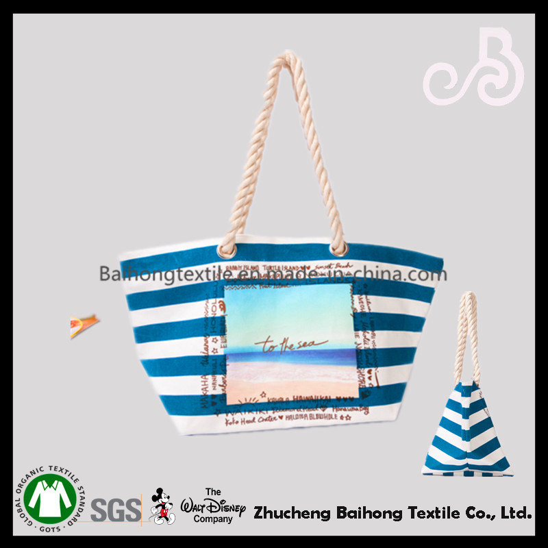 Colorful Tote Cotton Shopping Bag