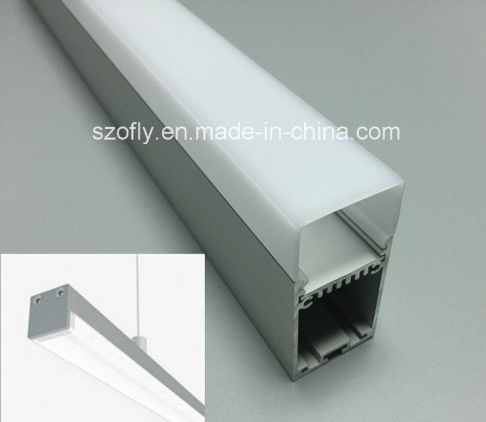 2015 Newest Aluminum LED Pendant Profile & Linear for Strip Lamp