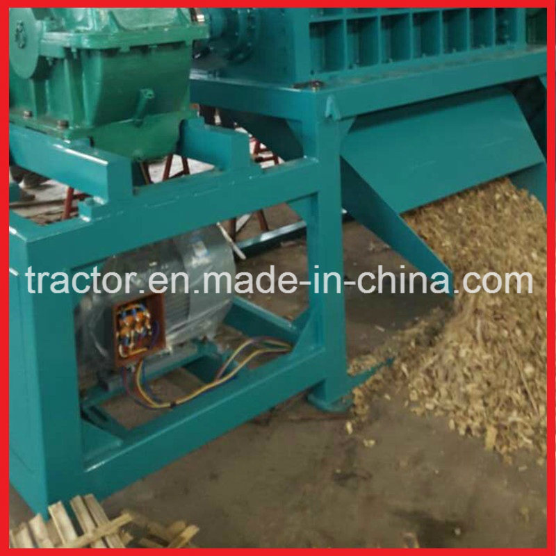 Double Shaft Wood/Tire/Plastic/Paper/Foam/Scrap Metal Shredder