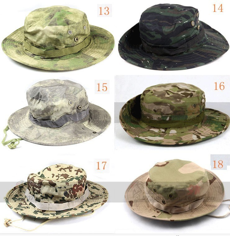 OEM Camouflage Custom Cotton Bucket Hats