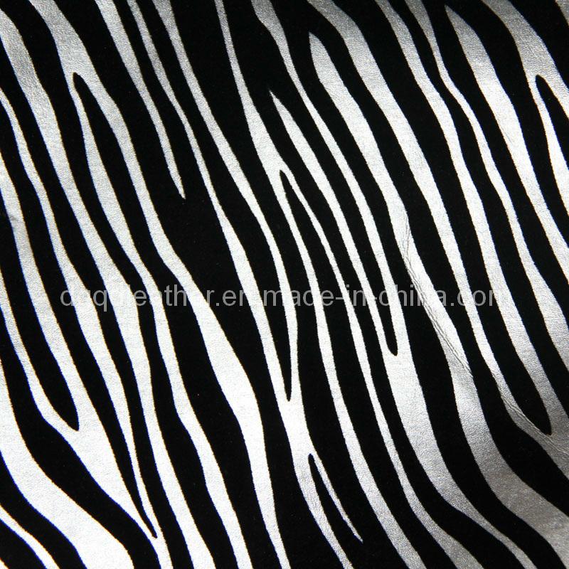 Zebra Grain Furniture PU Leather (QDL-FP0050)