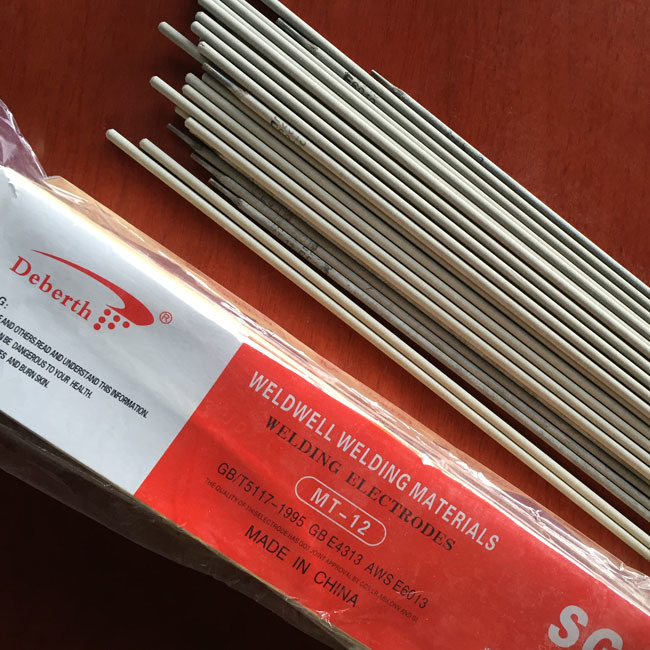 Mild Steel Arc Welding Rod E6013 4.0*400mm