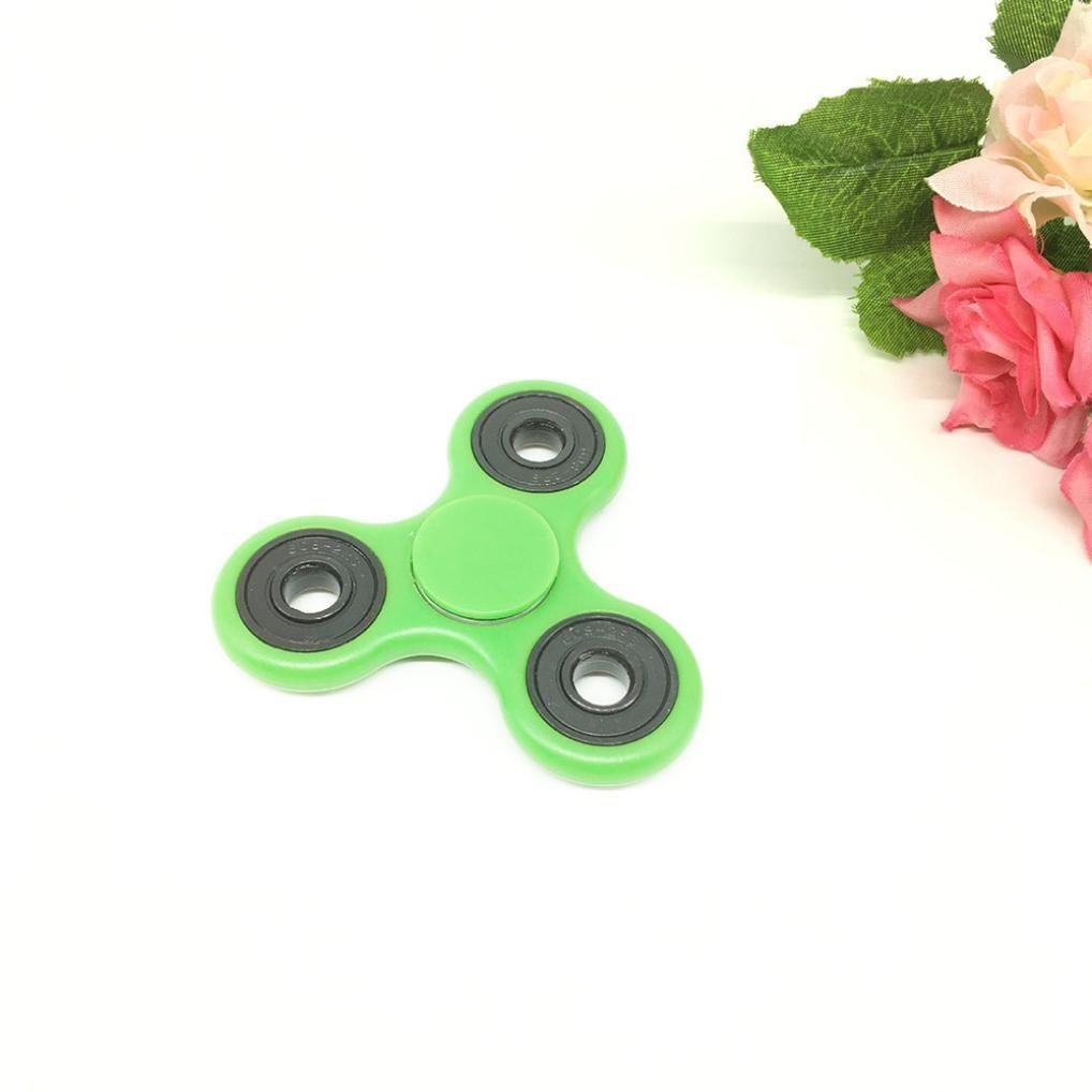 Fidget Hand Spinner EDC Focus Toy Stress Reducer Metal Cube Bearing, EDC Focus Toy for Killing Time