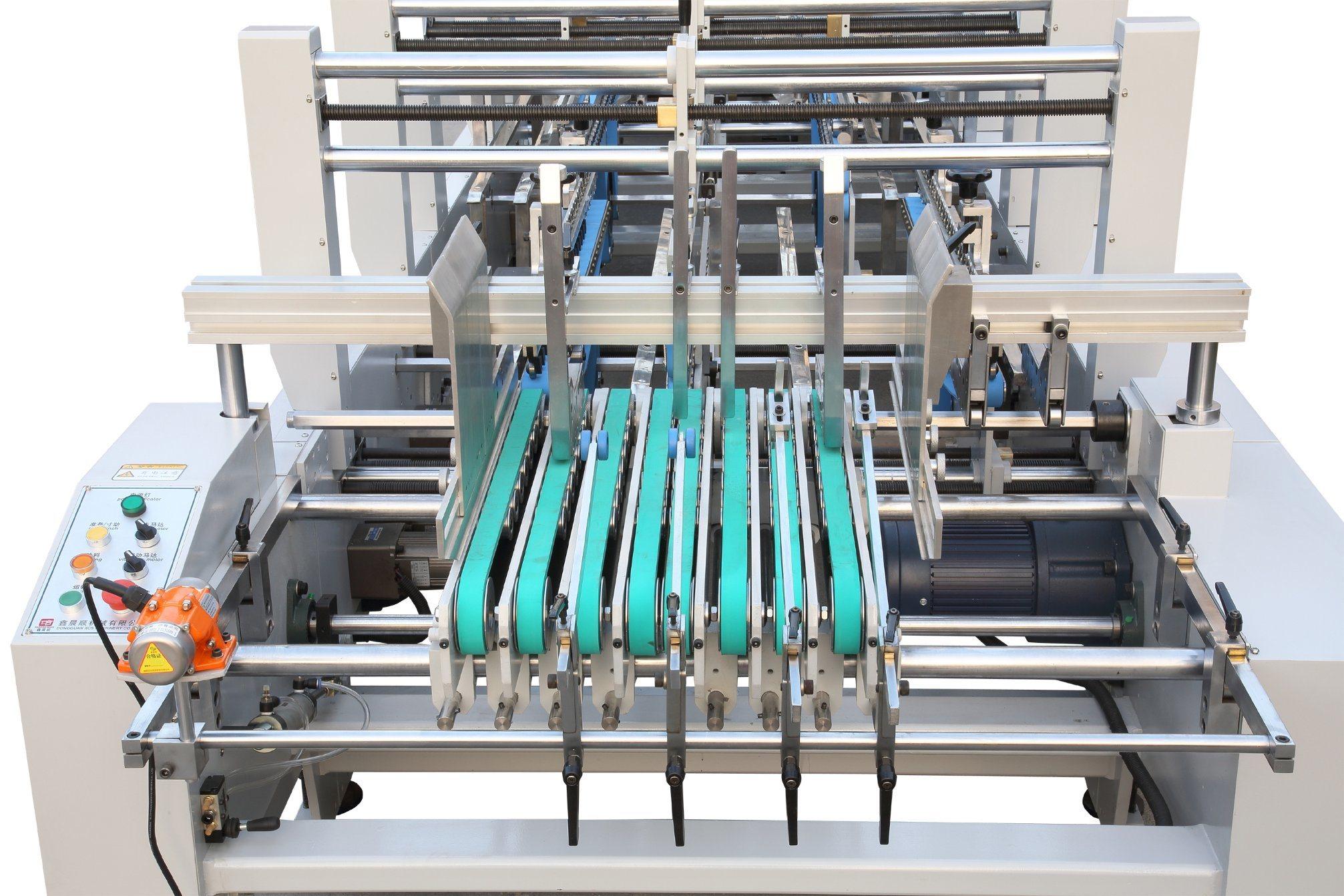 Xcs-1100AC High-Speed Multifunctional Folder Gluer Machine