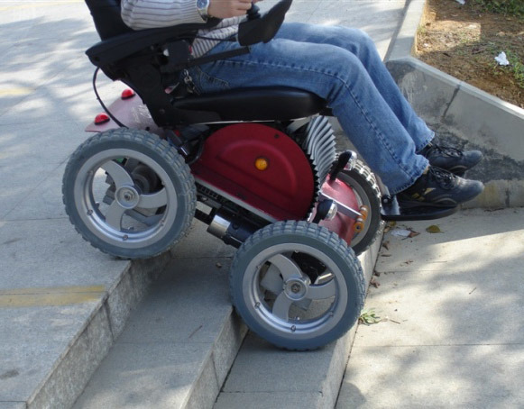 4x4 Electric Wheelchair China Motorized Wheelchair