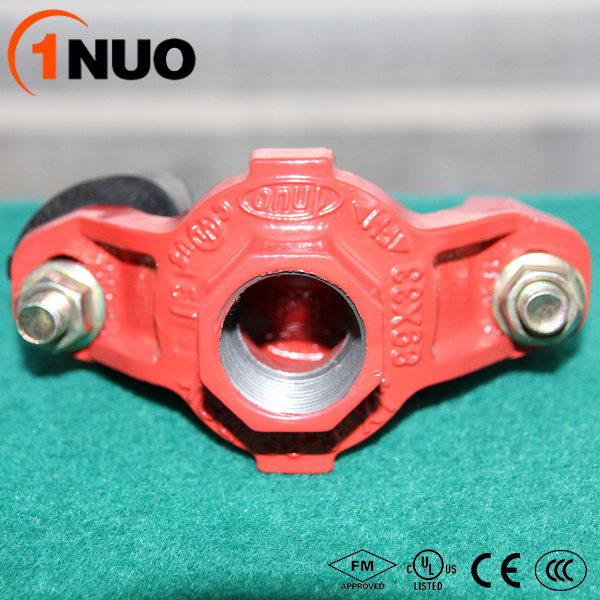 300psi Heavy Weight Thick Ductile Iron Pipe Fittings Threaded Reducer