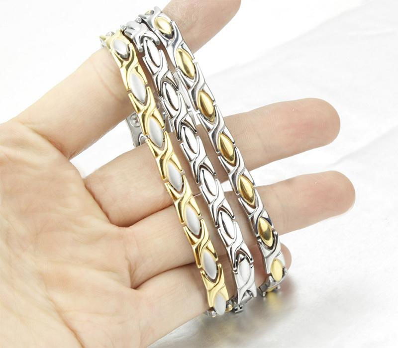 Magnetic Stainless Steel (Titanium) Energy Bracelet