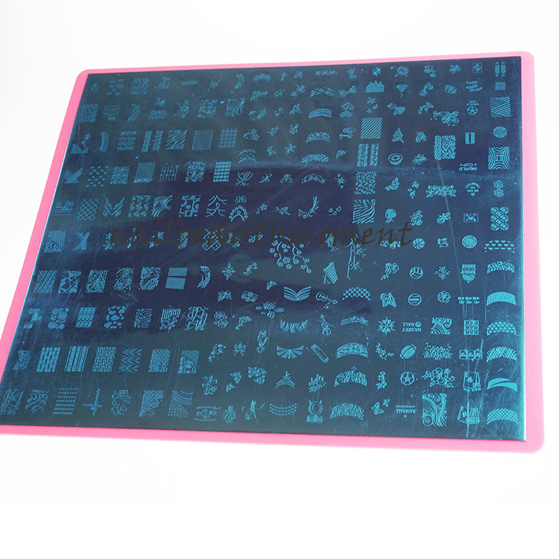 Nail Art Xxl Stamping Template Image Plates (SNA05)