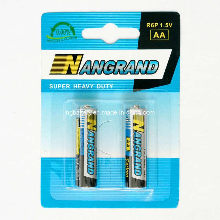 Zinc Carbon Battery : R p aa zinc carbon battery pack china batteries