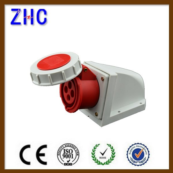 Industrial Use 3 Phase 5p 32A Cee Waterproof Socket