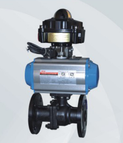 Pneumatic Actuator with Flange Ball Valve (HAT100D)