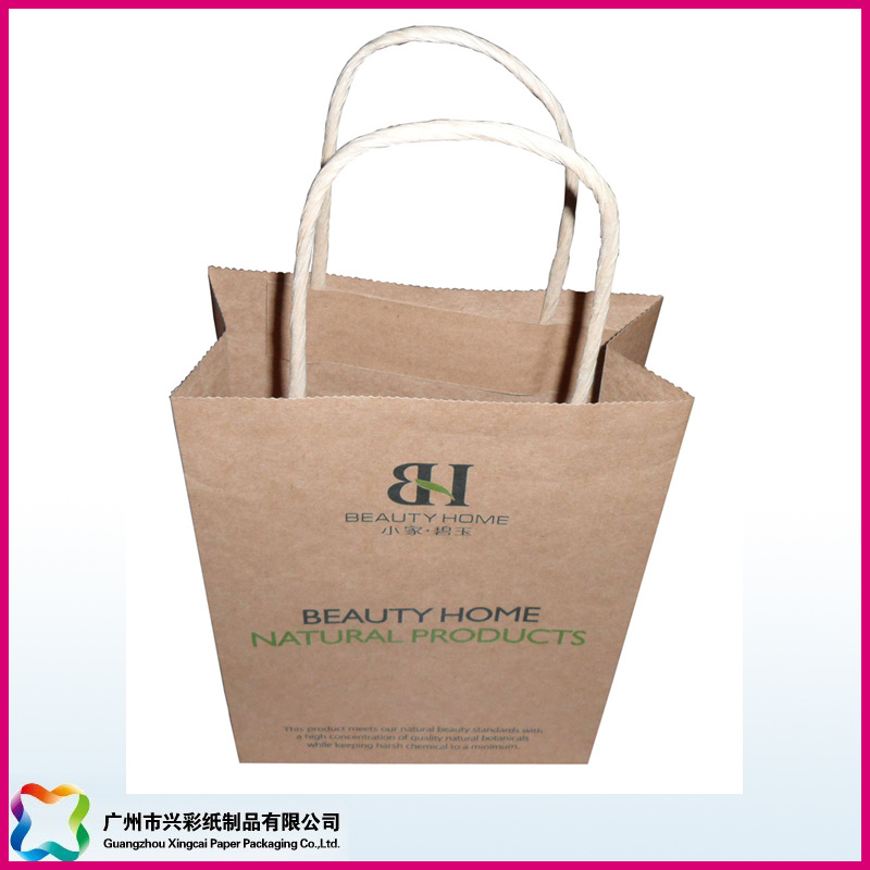 Kraft Gift Bag with Twisted Paper Handles