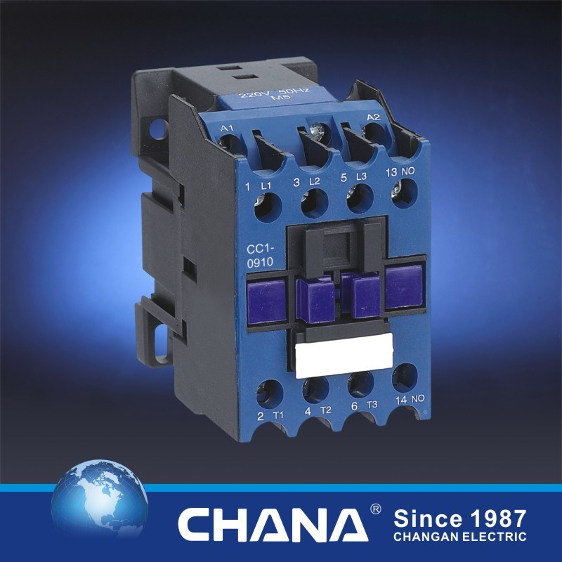 09-32A AC Contactor with Semko, CB, Ce, RoHS Approvals (CC1-D)