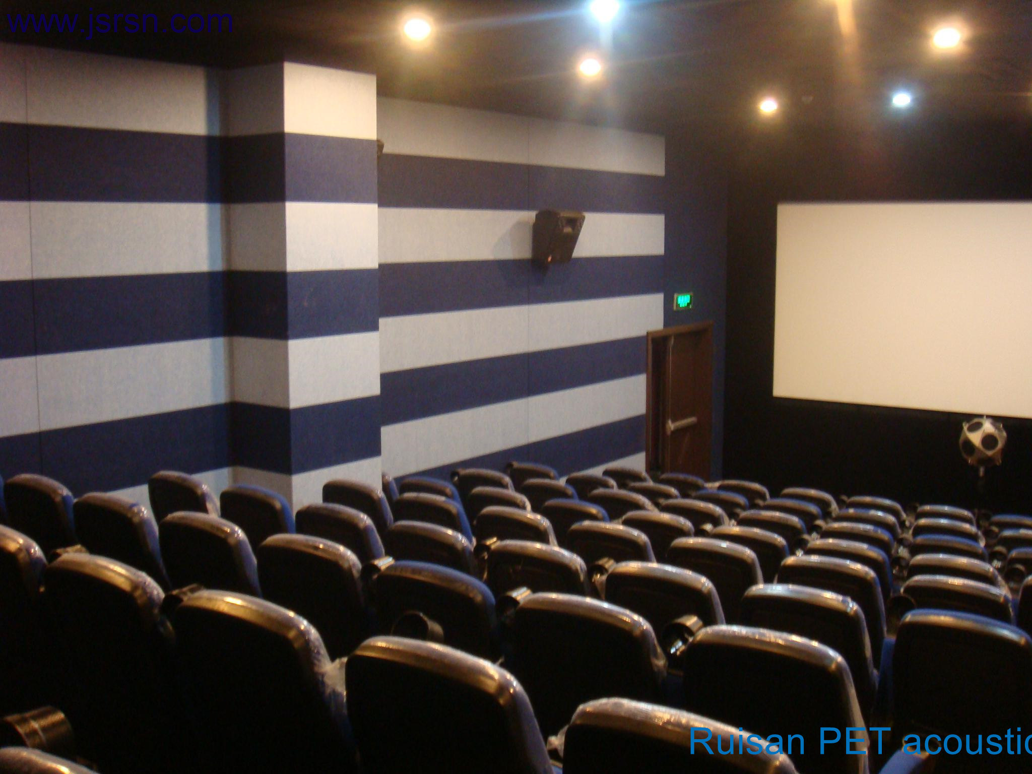 Blue Pet Acoustic Panel for Cinema