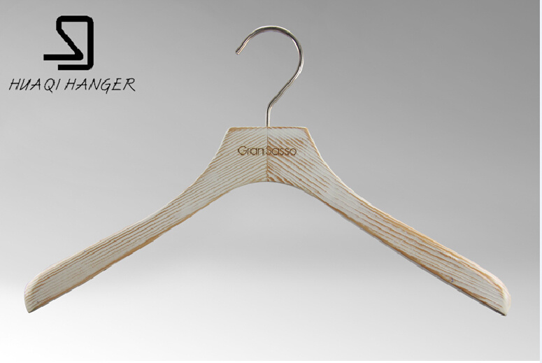 2016 Luxury Wooden Hanger for Fashion Store