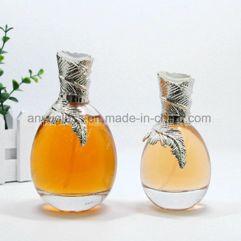High-End Crystal Polish Perfume Glass Bottles with Crystal Cap, Fragrance Spray Glass Bottles