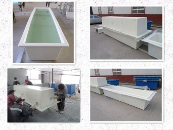 High Quality FRP/GRP/Fiberglass Fish Tank
