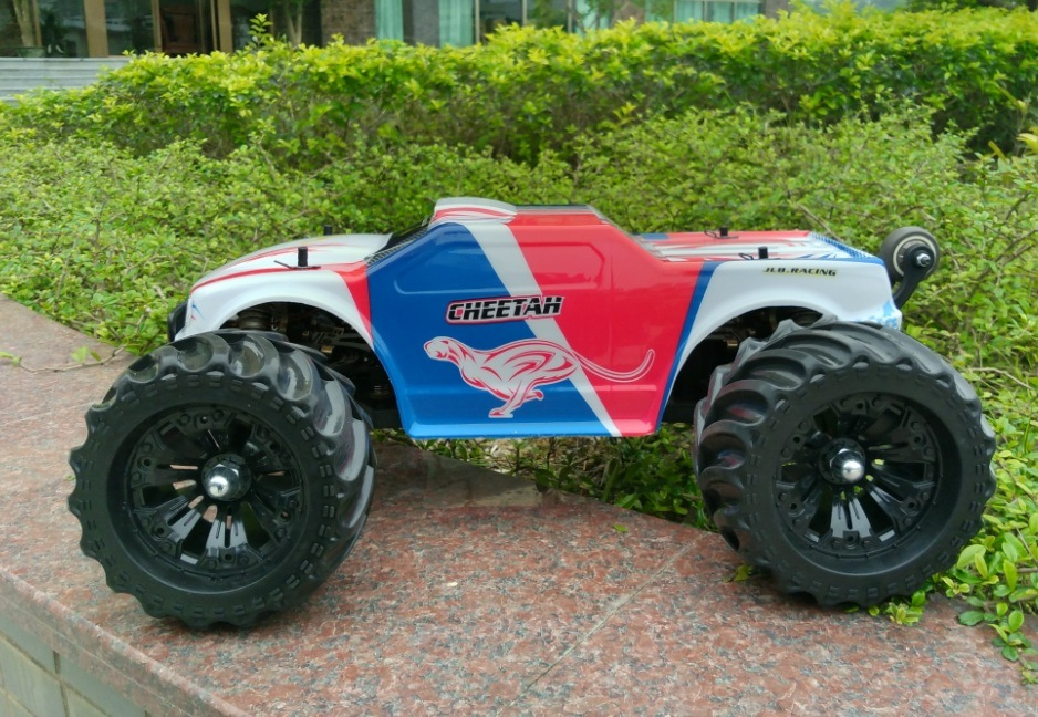 80km/H Fast Speed Golden Cheetah RC Monster Truck