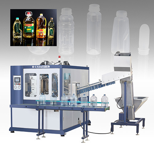 CE Approved with Ax Down Blow Series Automatic Blow Molding Machine (CSD-AX1-5L)
