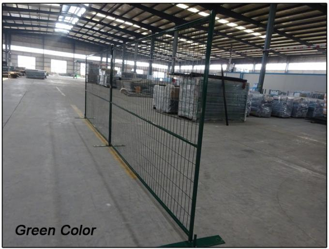6X10FT Canada Easy Install Available Any Color Powder Coating Construction Temporary Fence Panels