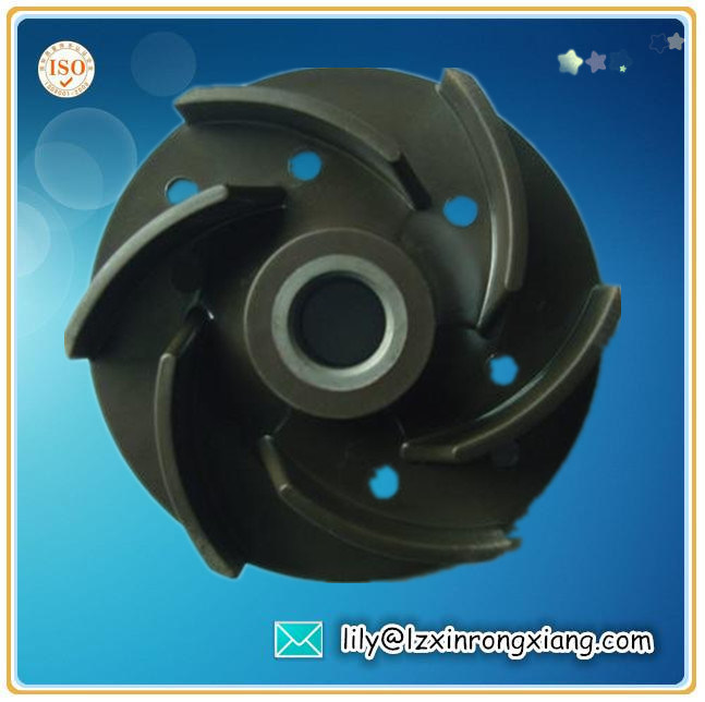 Sand Casting Closed Impeller for Pump, Casting Pump Impeller