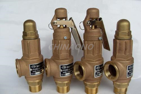 1/2 Brass Thread Type Safety Relief Valve