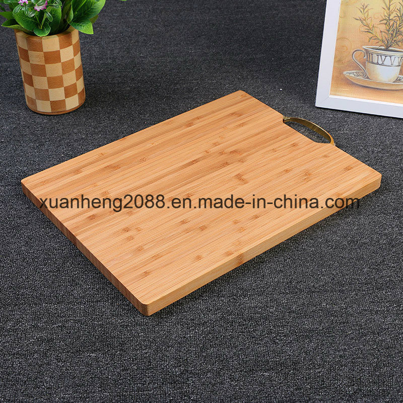 Kitchenware Bamboo and Silicone Chopping Board