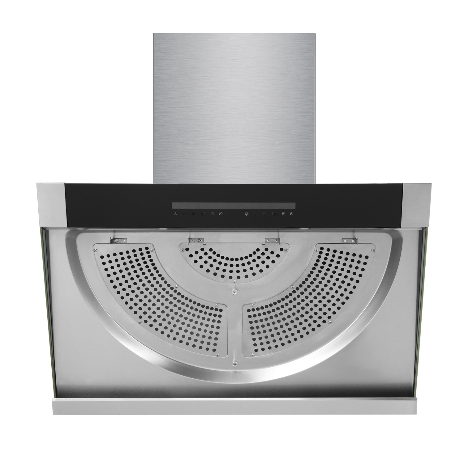 Kitchen Range Hood with Touch Switch CE Approval (QW-NEW DESIGN)