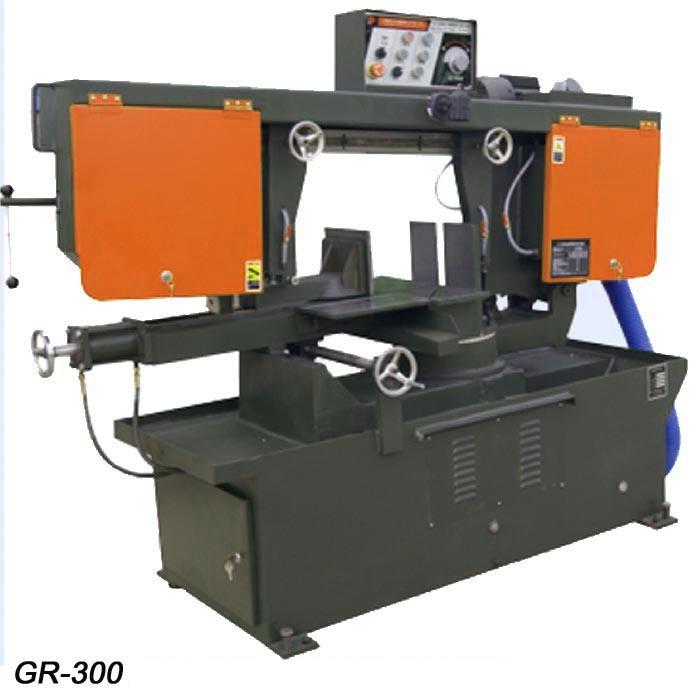 Automatic Horizontal Swivel Blade Metal Saw (GR-330)