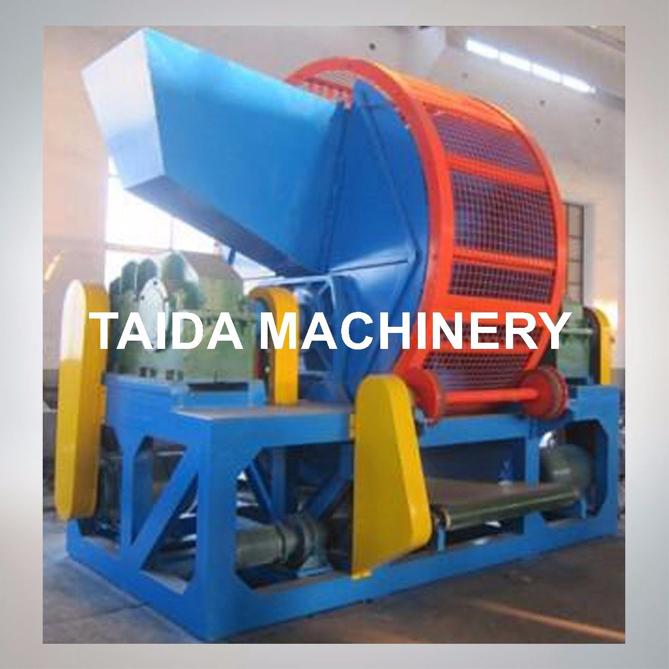Tire Bead Steel Wire Separator Waste Tire Recycling Rubber Cutting Machine