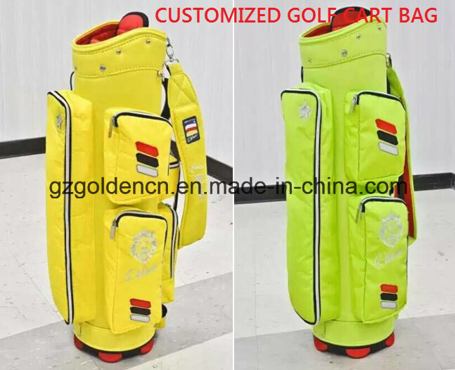 Golf Cart Bag 9 Dividers Top Golf Bag