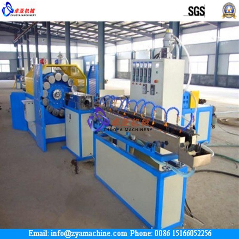 Soft PVC Fiber Braided Reinforced Hose Extruder Machine
