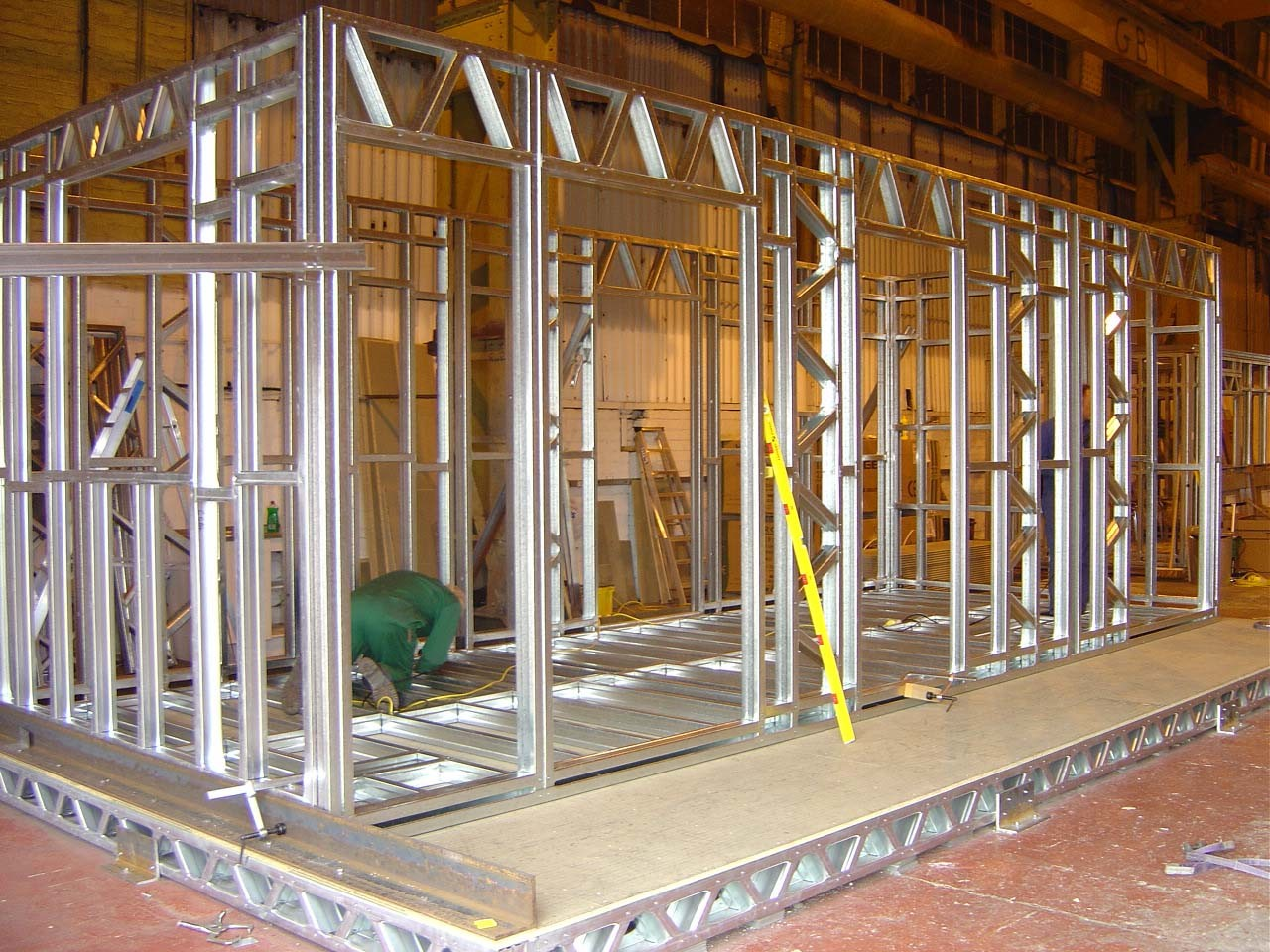 Affordable and Well Insulated Prefab Steel House
