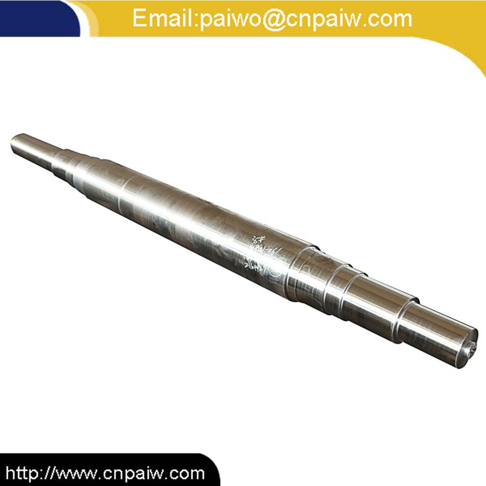 Customized 45# 42CrMo 30CrMo 1040 1045 4340 4130 Forged Steel Shaft