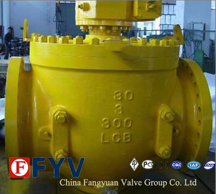 API 6D Forged/Cast Steel Top Entry Trunnion Ball Valve