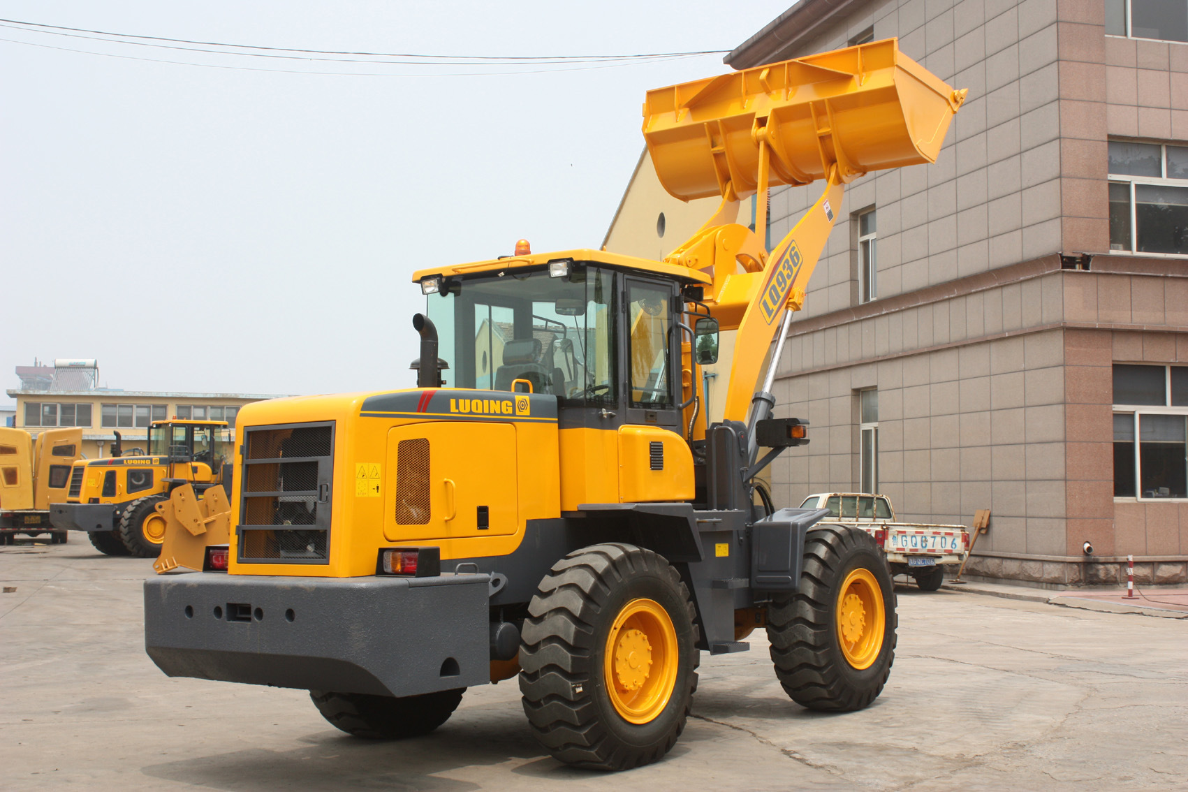 Joystick Wheel Loader with Ce, ISO9001