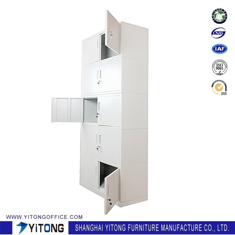 Yitong 10-Door Metal Storage Cabinet / Office Use Steel File Cabinet