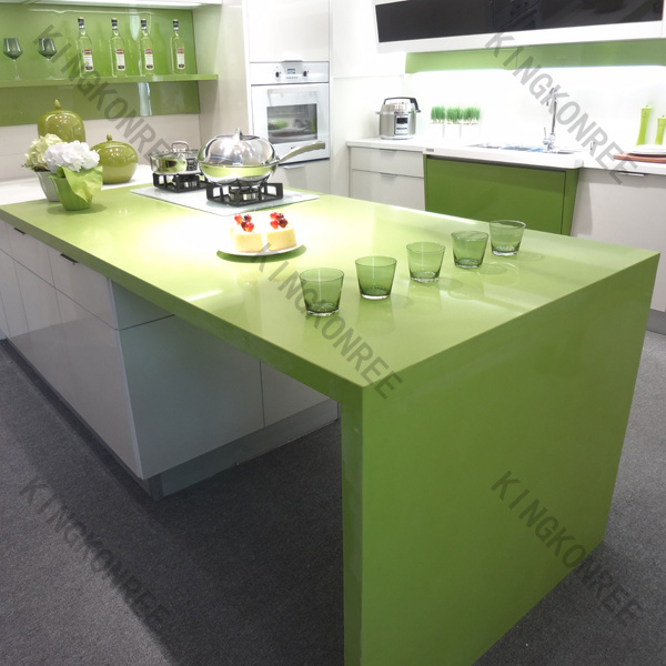 Solid Surface Top For Kitchen : China Prefab Solid Surface Kitchen Counter Top / Kitchen Island Photos ...