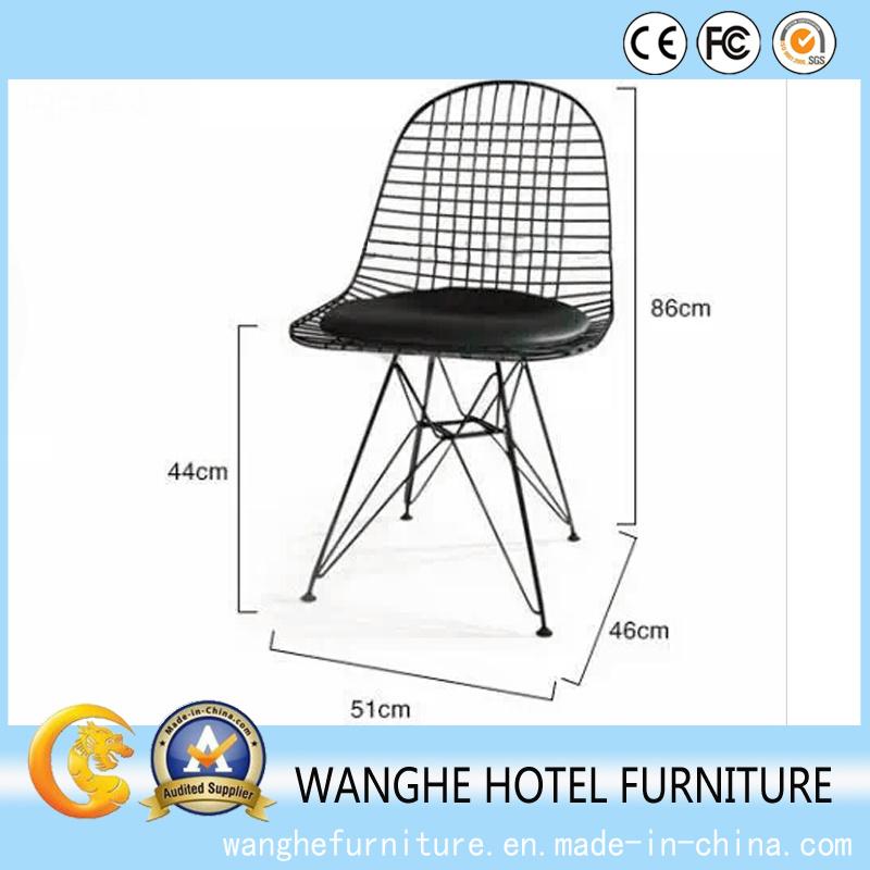 Hotel Banquet Furnitue Metal Wire Chair High Bar Chair