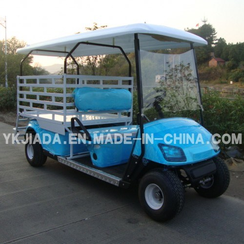 2 Seat Electric Food Kart with Cargo Truck (JD-GE502D)