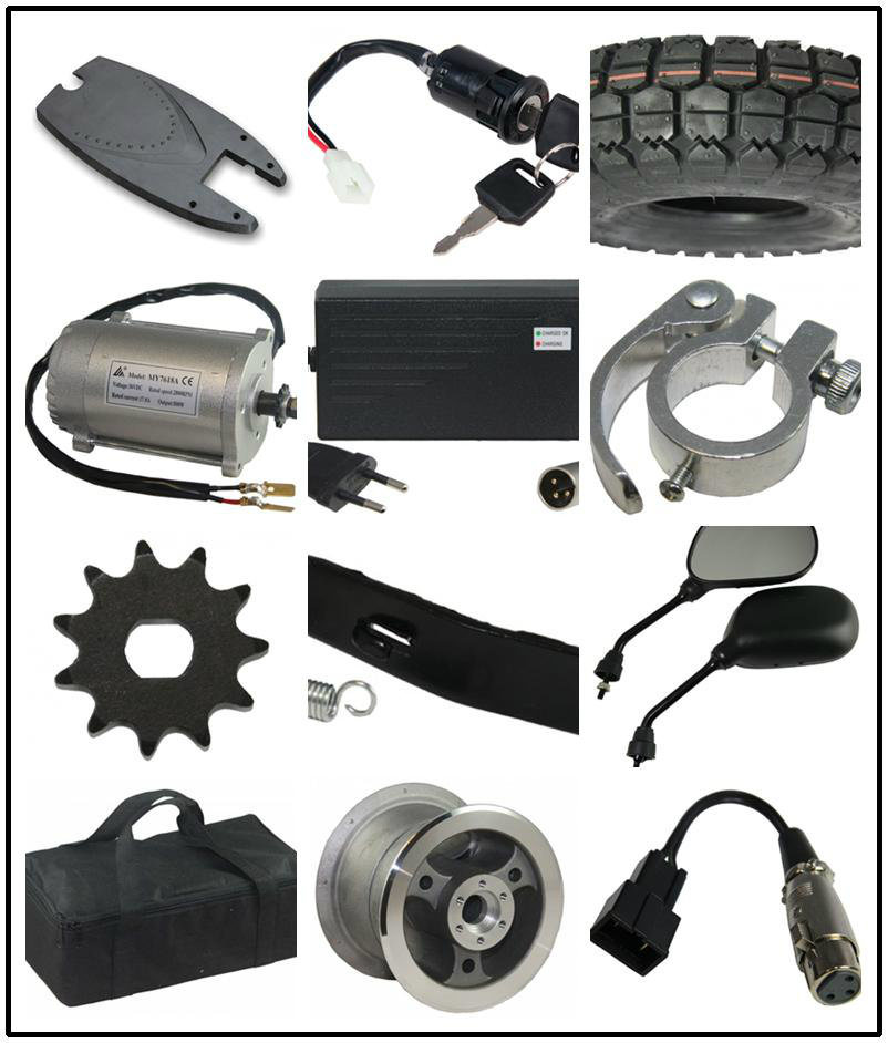 Electric Scooter Basket Spare Parts