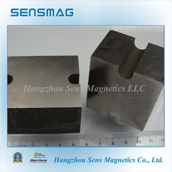 Manufature Cast Permanent AlNiCo Block Magnets